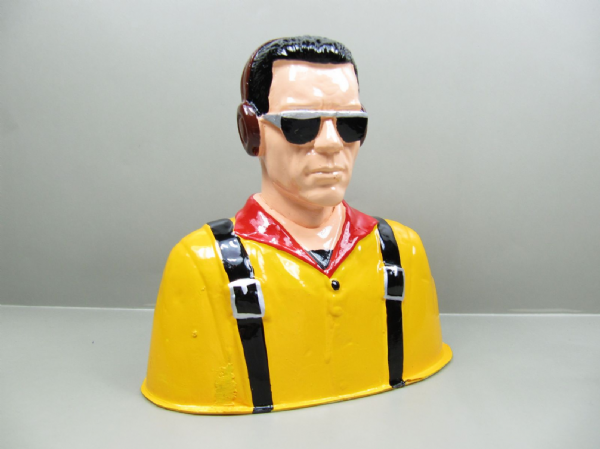 Resin Civilian Pilot 120mmx119mmx63 Large Scale